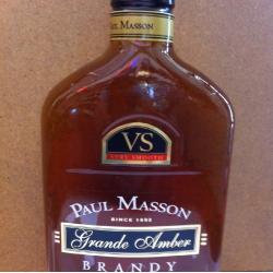 Paul Masson Grande Amber brandy