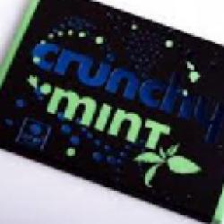 Crunchy&Mint crna čokolada